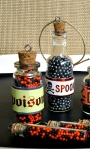 mini halloween apothecary jars copy